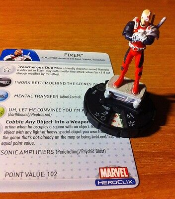 Marvel Heroclix Captain America 045 Fixer Rare