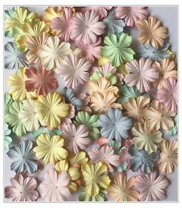 Artificial mulberry paper flowers 5 petals craft handmade image is loading artificial mulberry paper flowers 5 petals craft handmade mightylinksfo