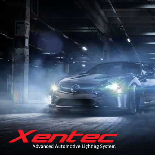 Xentec LED Light Bulbs Kit 100W 30000LM H4 H7 H11 H13 9004 9005 9006 9007 H1 H3
