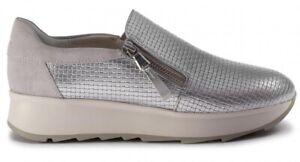 GEOX-RESPIRA-GENDRY-D925TA-scarpe-donna-sneakers-pelle-camoscio-zeppa-cerniera