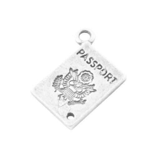 - Charming Beads ZX06050 Truck - Packet of 10 x Antique Silver Tibetan 26mm Charms Pendants