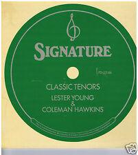 LP LESTER YOUNG & COLEMAN HAWKINS CLASSIC TENORS (FLYING DUTCHMAN)