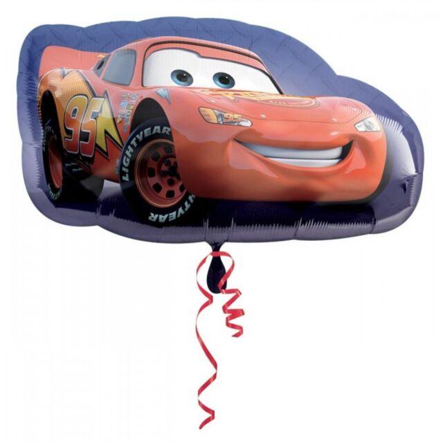 "2 Disney Pixar  ""Cars"" ""Planes"" Lighting McQueen 30"" mylar balloon Birthday Lot"
