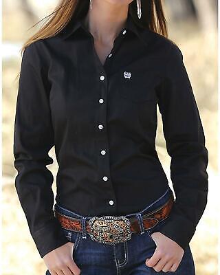 Cinch Women/'s Western Weave Pocket Shirt MSW9164027