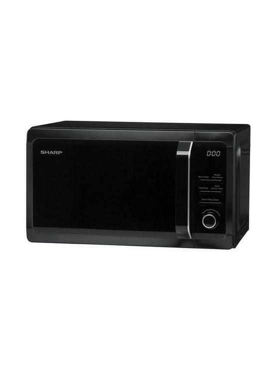 Sharp 800w Microwave R274km Black For