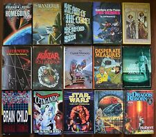 Lot of 15 Science Fiction HC books Avatar/ Leiber/ Star Wars/ Jordan/