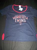 Campus Lifestyle Women's Minnesota Twins Shirt Large