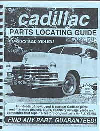 Find Cadillac Parts with this book 1973 1974 1975 1976 1977 1978