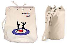NORTHERN SOUL DANCERS DUFFLE BAG College Rucksack Gym Mod Motown Beach Backpack