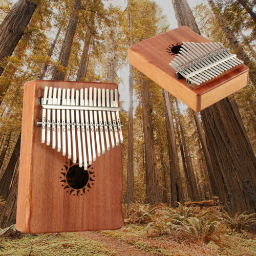 Donner Dkl-17 17 Key Kalimba Thumb Piano Solid Mahogany Body