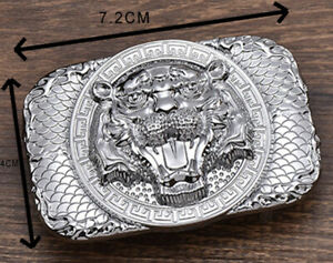 MENS-NEW-TIGER-FACE-LUXURY-PIN-BUCKLE-ONLY-FOR-38-MM-BELTS-WOMENS-BELT-BUCKLES