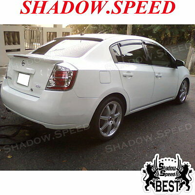 Unpainted B Type Rear Window Spoiler Wing For NISSAN 2007~12 SENTRA SE-R Sedan ☢