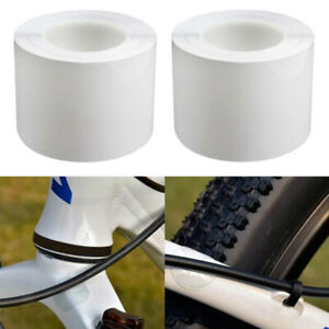 2 Roll Adhesive Bike Frame Protection Tape Dustproof Chain Stay Protector