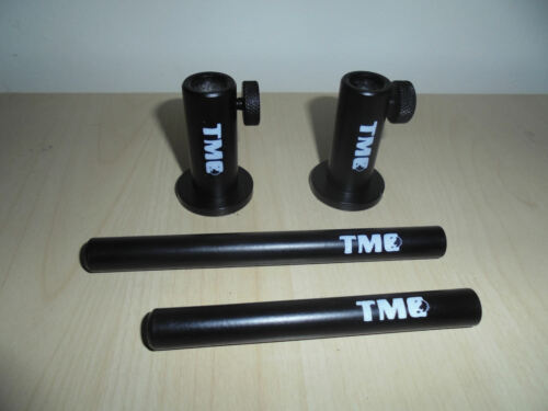 "TMC black Anodized Aluminium Light weight Stage stands and 3/"" 4/"" 5/"" inserts."