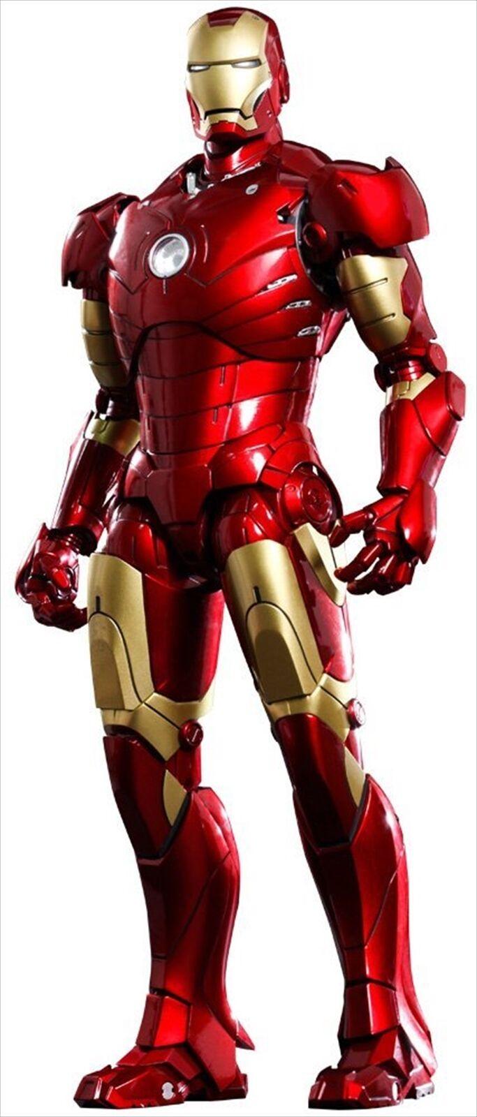Hot Toys Movie Masterpiece DIECAST Iron Man Mark 3 III 1 6 Action Figure