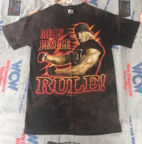 Mean People Rule Hollywood Hogan is Back T-Shirt y
