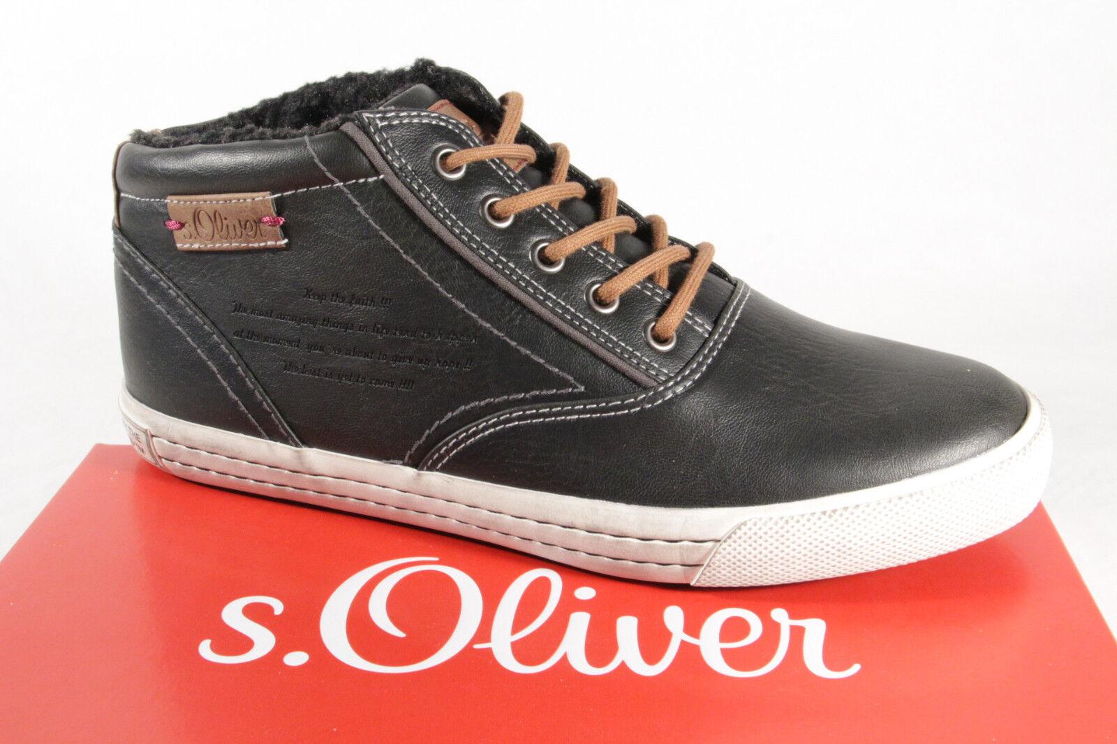 s.Oliver 46240 Schnürstiefel Stiefel  Boots  schwarz  NEU
