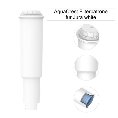 12 x Filter Cartridges aqk-04 Compatible Jura Impressa White NEW