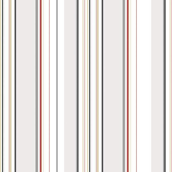 G12102 - Kitchen Recipes Striped Multicoloured Galerie Wallpaper