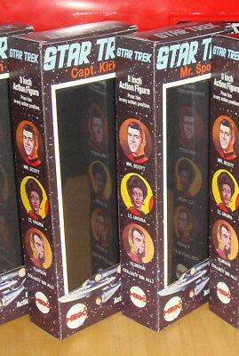 "STAR TREK MEGO 8/"" CUSTOM BOX OF 4 ONLY you choose"