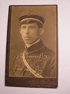 Qualifiziert Schöneberg Berlin - Wehrschaft Hellas - 1912 - Paul ? Student / Cdv Studentika
