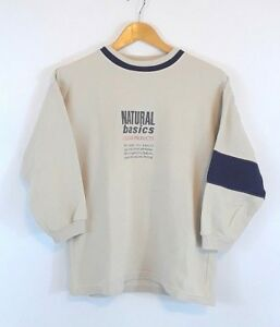 Image Is Loading Texstar Natural Basics Pullover Dirty White Color See