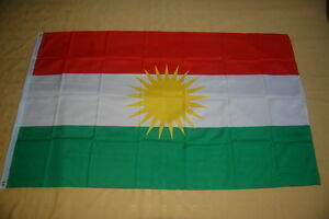 Kurdistan-Flagge-Fahne-Hissflagge-Hissfahne-150-cm-x-90-cm