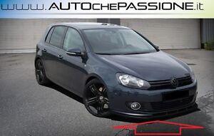 Splitter-Spoiler-anteriore-per-VW-Golf-VI-per-paraurti-di-serie-no-gti-no-R