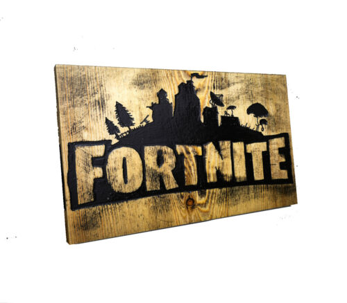 fortnite canvas wall art Wood Framed Ready to Hang XXL game