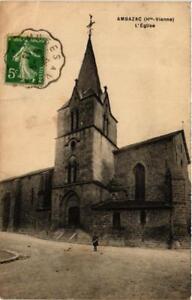 CPA AK AMBAZAC Église (611081)