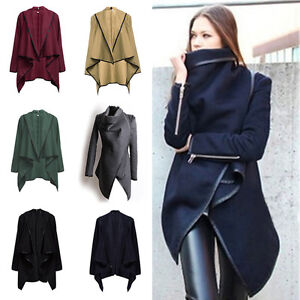 Women-Trench-Coat-Warm-Ladies-Parka-Overcoat-Long-Jacket-Winter-Outwear-Zsell