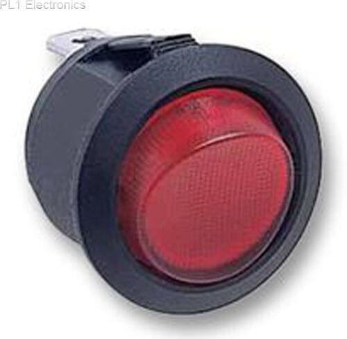 Rosso Illum. Interruttore Multicomp-r13-244b-02-br-0a DPST Rocker