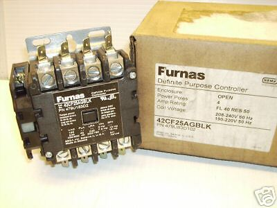 UNUSED NOS Furnas 42CE15AJ399RGR Definite Purpose Controller 240//480//600V 50A