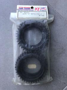 *vintage* Set De Pneus / Tyre Set Yokomo Tf-320y 4wd Front Spike Tyres. Nip PréParer L'Ensemble Du SystèMe Et Le Renforcer