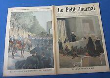 Le petit journal 1898 413 la bagarre de l'avenue wagram