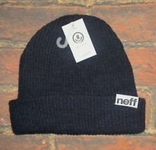 359349030dc item 7 MENS NEFF NAVY BLUE BEANIE HAT ONE SIZE -MENS NEFF NAVY BLUE BEANIE  HAT ONE SIZE