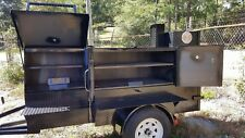 Mini Ribmaster Mobile Bbq 30 Grill Smoker Trailer Food Truck Vending Concession