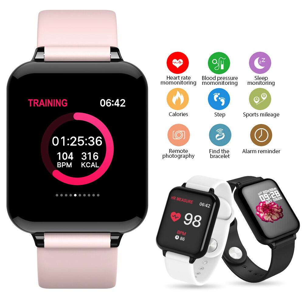 Smart Watch Android Women Man Watch Blood Presure Heart Rate