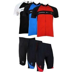 Piu-Miglia-Mens-Short-Sleeve-Full-Zip-Cycling-Jersey-Bike-Top-Cycle-Shorts-Shirt