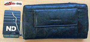 Portamonete portafoglio portafoglio portafoglio SOLDI Borsa Nero ND 98199  </span>