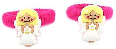Zest 2 Angel Hair Ponios Bande Accessori Rosa E Bianco-mostra Il Titolo Originale