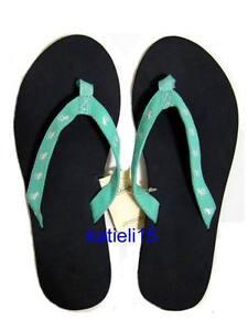 Abercrombie-amp-Fitch-Classic-Logo-Flip-Flops-Sandals-Girl-039-s-L-8