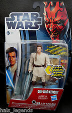 Star Wars Movie Heroes Jedi OBI-WAN KENOBI New! w/Light-up Lightsaber. Ewan