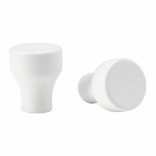 202.848.04Brand New 24mm White IKEA Knob ERIKSDAL Cabinet Knob 2-pack