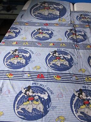 Bed Linen GroßE Vielfalt Micky Maus Delfin Mickey Mouse Donald Disney 2 Tlg Kinderbettwäsche