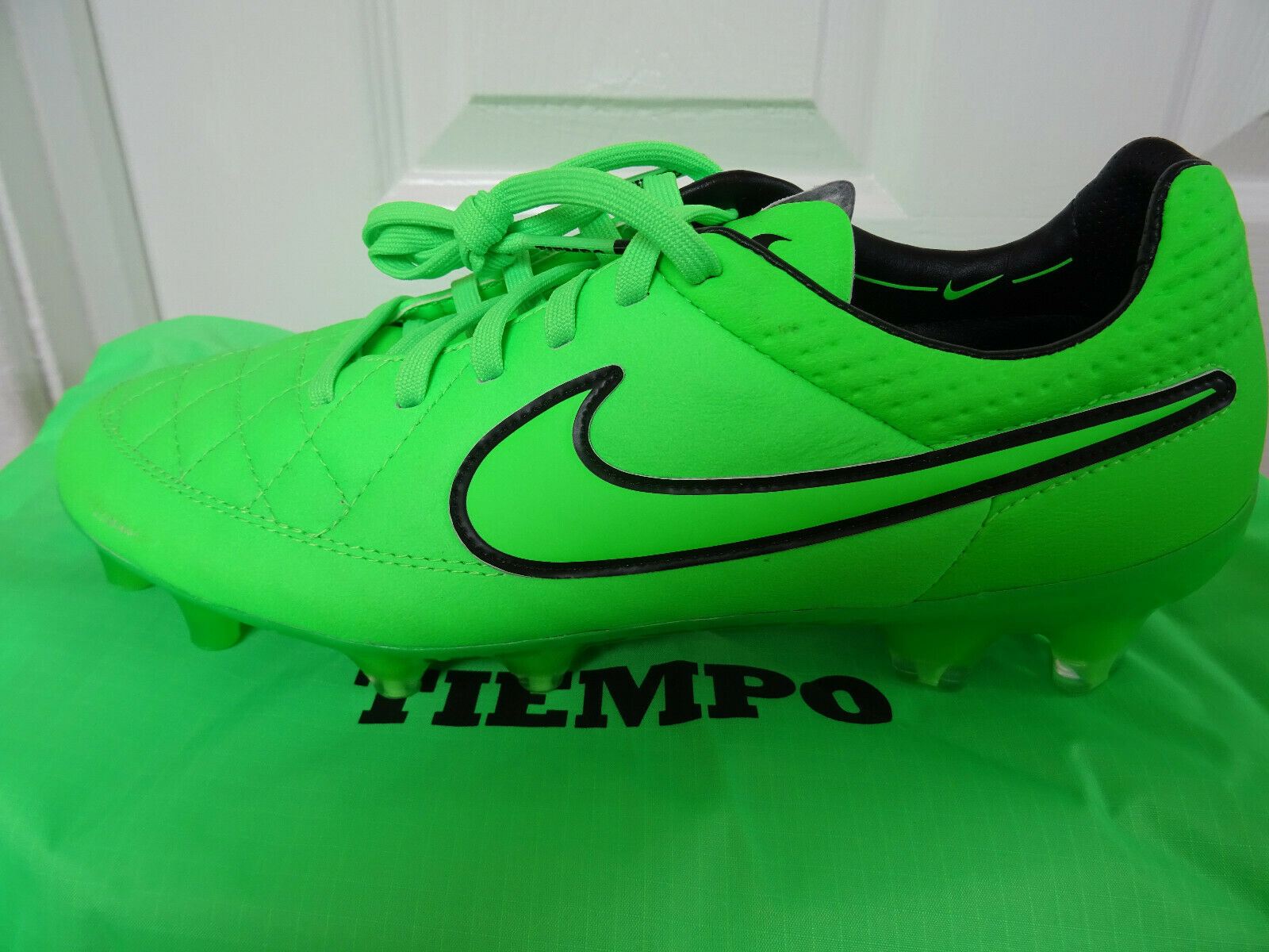 Nike Tiempo Legend V FG botas de fútbol 631518 330 5.5 EU 38.5 nos 6 Nuevo + Caja