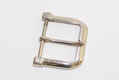 Gürtelschnalle Schließe Schnalle 40 mm Breite ca Silber