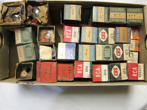 6H6 6F5GT /& more NEW 1J6G 6K6GT NOS 14F8 Vintage tubes 6CA4 12SK7GT