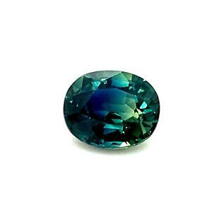 1-195ct-Bluish-Green-Sapphire-Oval-from-Australia-VVS-Natural-Gemstone-Video