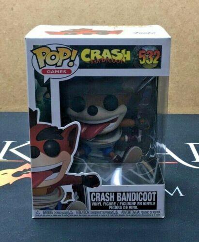 Crash Bandicoot Vinyl Figure Funko POP! 532 Crash Bandicoot